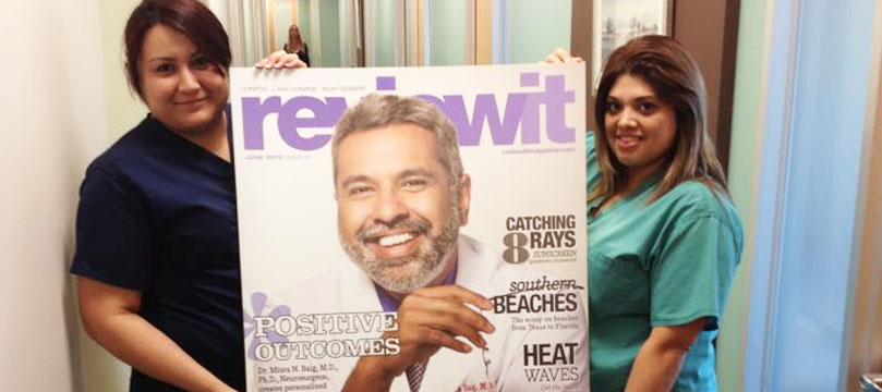 Dr. Baig featured in reviewit Magazine
